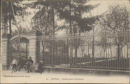 Épinal, Gendarmerie Nationale