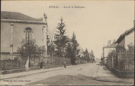 Épinal, Rue de la Préfecture