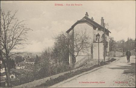 Épinal, Rue des Soupirs