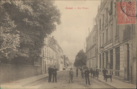 Épinal, Rue Thiers