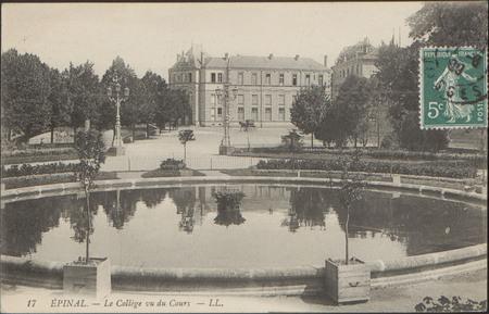 Épinal, Le Collège vu du Cours