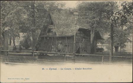 Épinal, Le Cours, Châlet forestier