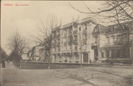 Épinal, Rue Gambetta