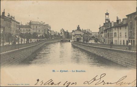Épinal, Le Boudiou