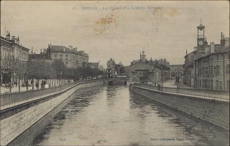 Épinal, Le Canal des Grands-Moulins