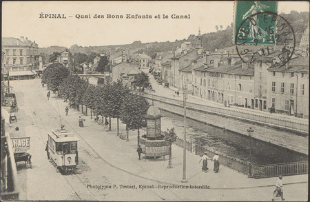 Épinal, Quai des Bons Enfants et le Canal