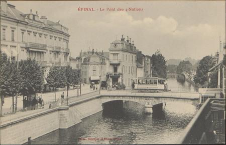 Épinal, Le Pont des 4-Nations