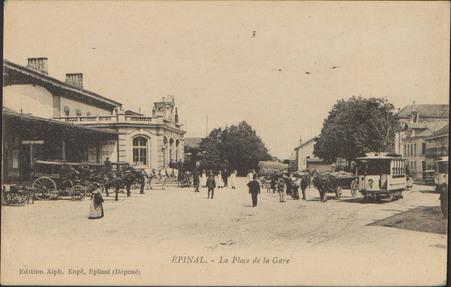 Épinal, La Place de la Gare
