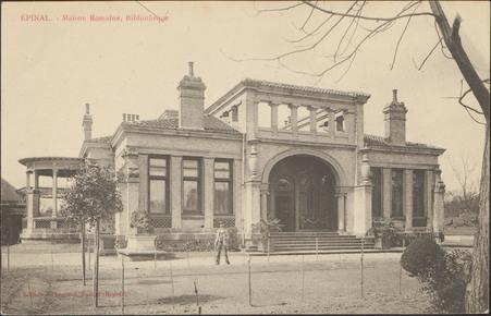 Épinal, Maison Romaine, Bibliothèque
