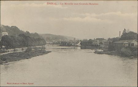 Épinal, La Moselle aux Grands-Moulins