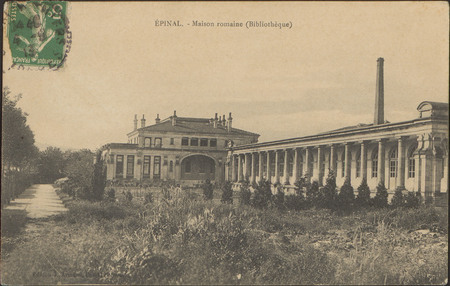 Épinal, Maison romaine (Bibliothèque)