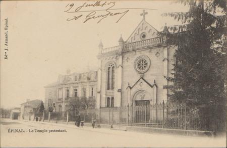 Épinal, Le Temple protestant