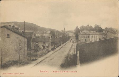 Épinal, Route de Remiremont
