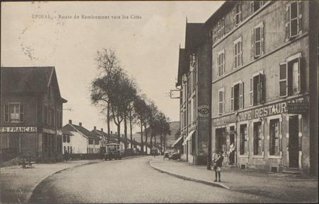 Épinal, Route de Remiremont vers les Cités