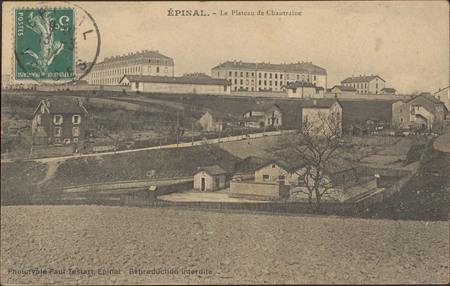 Épinal, Le Plateau de Chantraine