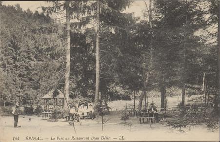 Épinal, Le Parc au Restaurant Beau Désir