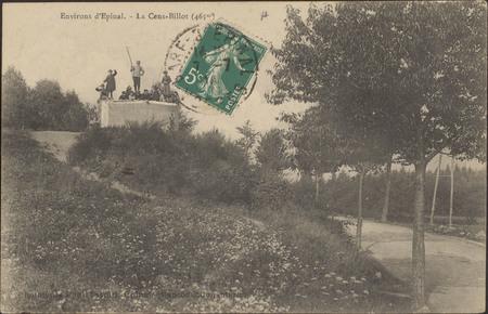 Environs d'Épinal, La Cens-Billot (465 m)