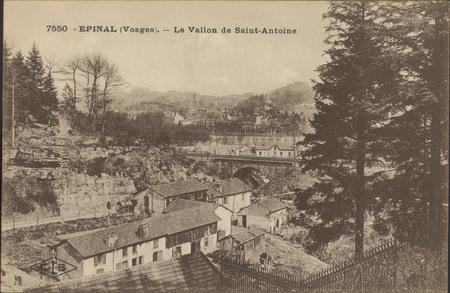 Épinal (Vosges), Le Vallon de Saint-Antoine