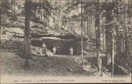 Épinal, Le Bois de la Vierge, Les Roches