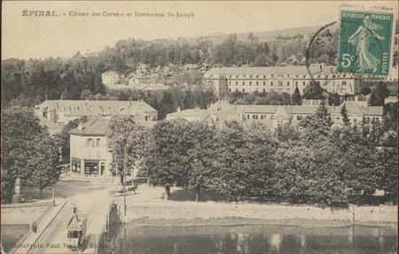Épinal, Côteau des Corvées et Institution St-Joseph