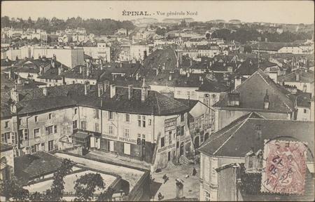 Épinal, Vue générale Nord