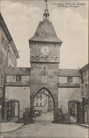 L'ancienne Porte du Boudiou, Épinal (Vosges)