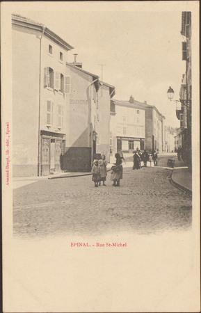 Épinal, Rue St-Michel