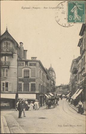 Épinal (Vosges), Rue Léopold-Bourg