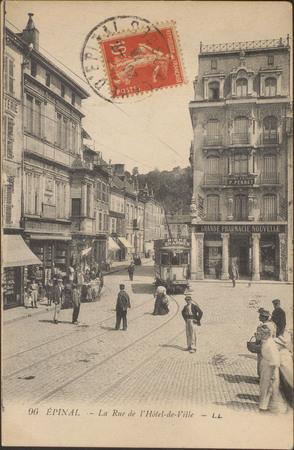 Épinal, La Rue de l'Hôtel-de-Ville