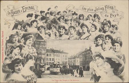 Un Baiser d'Épinal, Les Plus jolies filles du Pays, La Place des Vosges et…