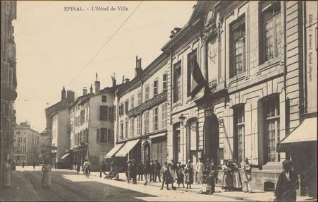 Épinal, L'Hôtel de Ville
