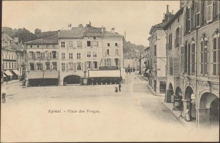 Épinal, Place des Vosges