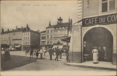 Épinal, Arcades, Place des Vosges