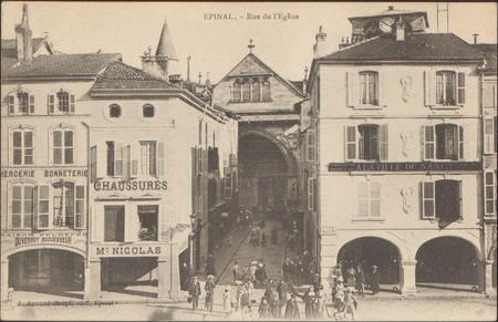 Épinal, Rue de l'Église