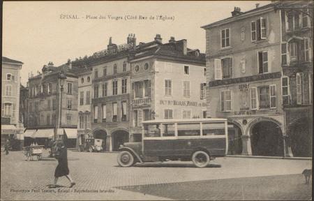 Épinal, Place des Vosges (Côté Rue de l'Église)