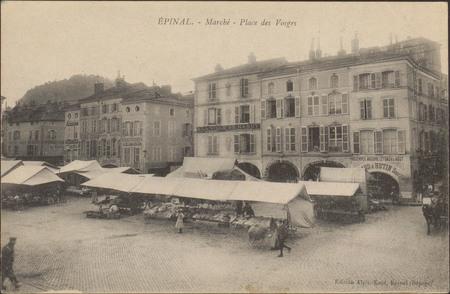 Épinal, Marché, Place des Vosges