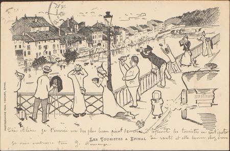 Les Touristes à Épinal
