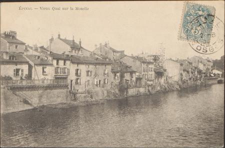 Épinal, Vieux Quai sur la Moselle