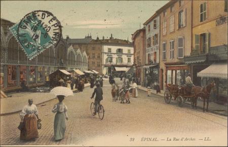 Épinal, La Rue d'Arches