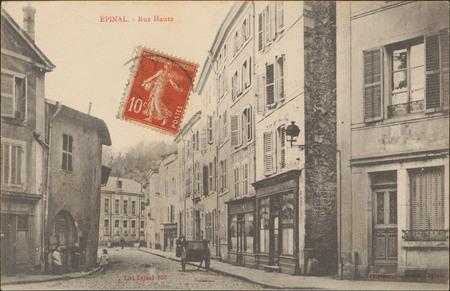 Épinal, Rue Haute
