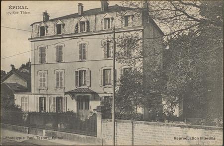 Épinal, 19, Rue Thiers