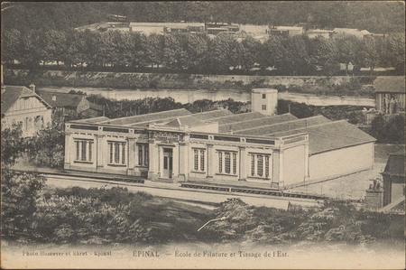 Épinal, École de Filature et Tissage de l'Est