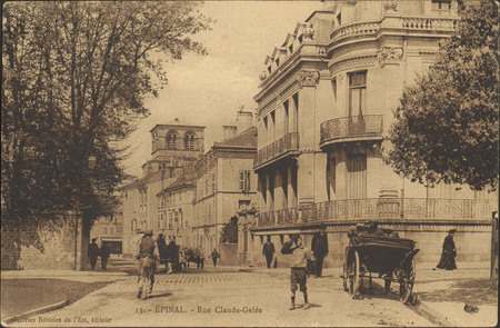Épinal, Rue Claude Gelée