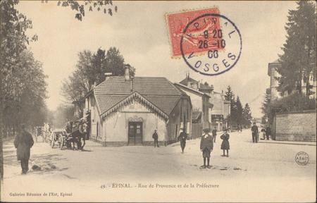 Épinal, Rue de Provence et de la Préfecture
