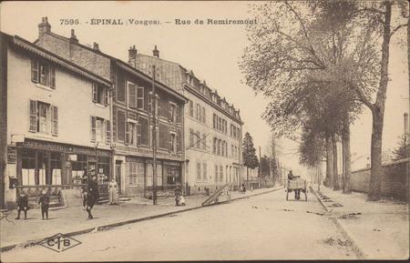 Épinal (Vosges), Rue de Remiremont