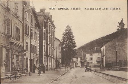 Épinal (Vosges), Avenue de la Loge Blanche