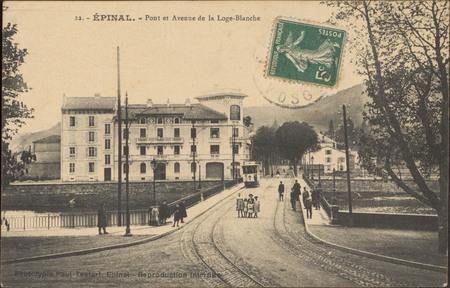 Épinal, Pont et Avenue de la Loge-Blanche