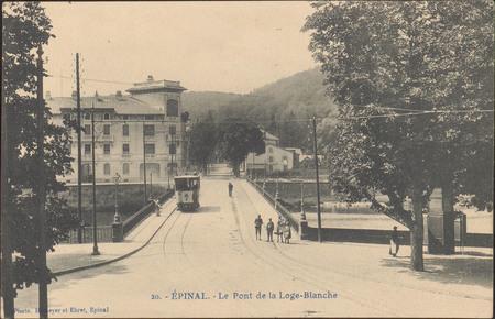 Épinal, Le Pont de la Loge-Blanche