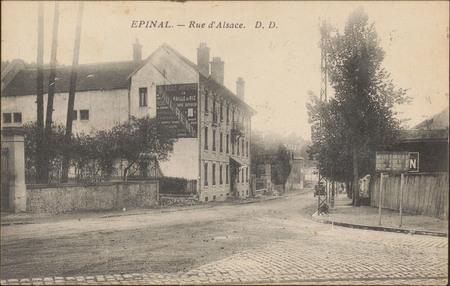 Épinal, Rue d'Alsace