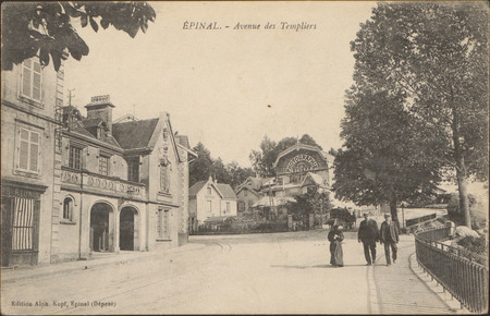 Épinal, Avenue des Templiers
